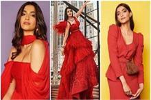 ऐश्वर्या और सोनम ने रेड ड्रेसेज पहन कर जीता सबका दिल (See...