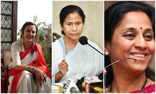 भारत की 10 महिला राजनेत्रियां,...