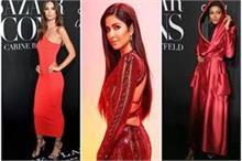 न्यूयोर्क से लेकर मुंबई तक, हसीनाओं ने दिखाया अपना 'रेड...