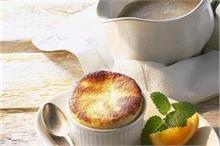 Orange Souffle कप केक बनाने का तरीका