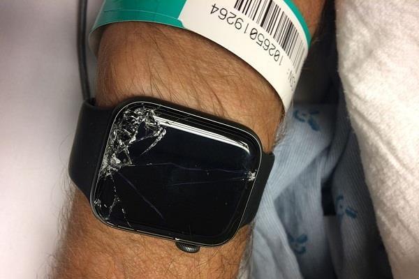 एप्पल वॉच ने बचाई एक और जिंदगी, यूजर ने फेसबुक पर शेयर की पोस्ट