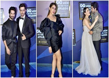 GQ Awards: वेस्टर्न ड्रेस में भी सारा नहीं भूली अपने संस्कार, वहीं...