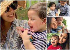 मीरा और उनके बेटे की यह तस्वीर हुई वायरल