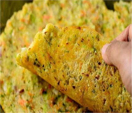 Sunday Breakfast: मिक्स वेज चावल की रोटी