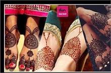 KarwaChauth Special: सिंपल से लेकर हैवी ,पैरों के लिए यहां...