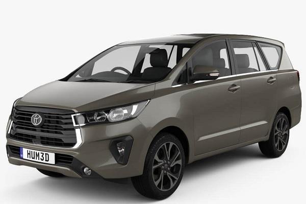 Toyota जल्द लॉन्च करेगी नई Innova Crysta Facelift, लीक हुई 3D मॉडल की तस्वीरें
