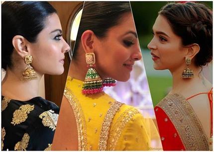 Fashion Trend! ईयररिंग्स लवर्स ट्राई करें एक्ट्रेस के लेटेस्ट झूमका...