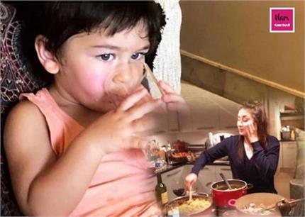 Baby Diet: तैमूर को बाहर के खाने से दूर रखती है करीना, बताया बेटे का...