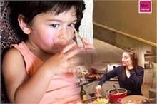 Baby Diet: तैमूर को बाहर के खाने से दूर रखती है करीना,...