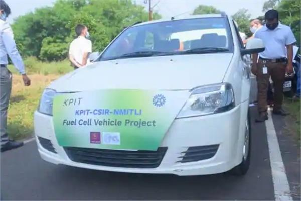 देश की पहली हाइड्रोजन फ्यूल सेल पैसेंजर कार का हुआ सफलतापूर्वक ट्रायल