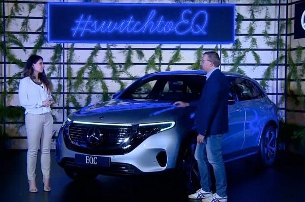 Mercedes Benz ने भारत में लॉन्च की EQC ऑल इलैक्ट्रिक लग्ज़री SUV, कीमत 99.30 लाख रुपये