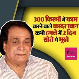 बचपन में भीख मांगकर भरते थे पेट, बिग बी की वजह से कादर खान...