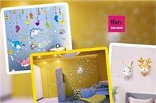 Universal Children Day: बच्चे के कमरे की दीवारों को यूं दें...