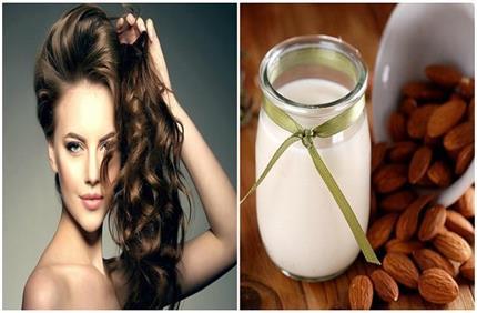 बादाम के दूध से बनाए होममेड हेयर मास्क, बाल होंगे मजबूत और मुलायम