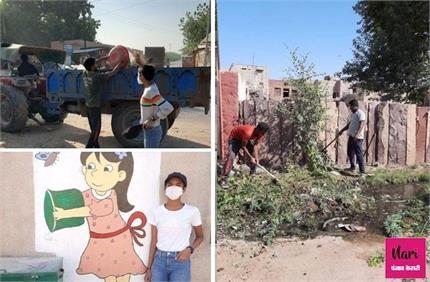 Proud: दादी के पास छुट्टियां काटने गई चेष्टा ने बदल दी गांव की काया