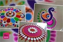 Rangoli Hacks: कम समय में रंगोली बनाने के यहां से लें...