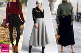 विंटर में स्कर्ट पहनने के 5 बेस्ट ट्रिक्स, ठंड लगेगी कम और...