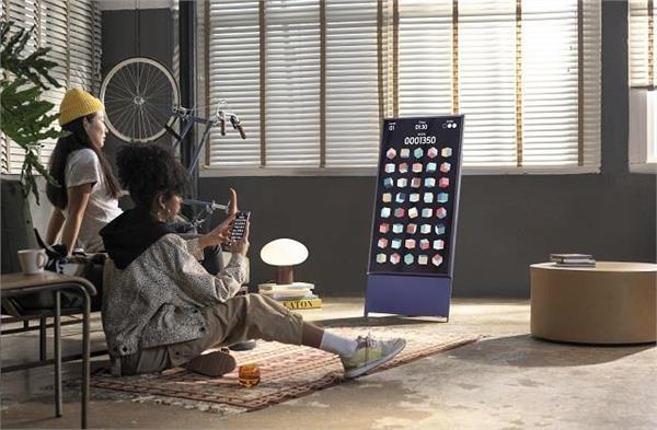 सैमसंग ने भारत में लॉन्च किया 43 इंच का रोटेटिंग TV, जानें इसके बारे में सबकुछ