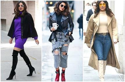 Winter Fashion: प्रियंका की फुटवियर कलेक्शन से सर्दियों में भी दिखें...