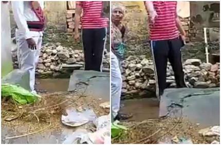 कचरे से लिया कचरे का हिसाब, महिला को रिटर्न गिफ्ट देने पहुंचे सफाई...