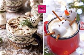 Christmas in a Cup: गर्मा-गर्म स्नोमैन हॉट चॉकलेट