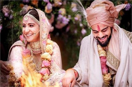 विरुष्का की शादी को पूरे हुए 3 साल, विराट ने पत्नी को खूबसूरत अंदाज...