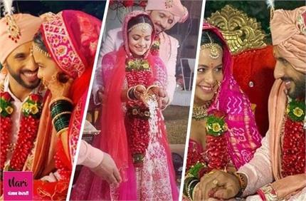 गर्लफ्रेंड संग शादी के बंधन में बंधे पुनीत पाठक, यहां देखें Wedding...
