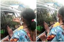 किन्नरों ने बीच सड़क पर रोकी आदित्य की गाड़ी, पैसे कम मिलने...