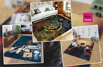 स्टाइल के साथ घर को कम्फर्टेबल लुक देंगे Harry Porter Themed Carpet