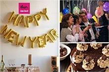 घर पर मना रहे हैं नया साल तो इन आइडियाज से करें अपनी खुशी...