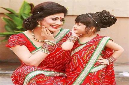 Mother Daughter Love... बेटी के साथ मैच करें आउटफिट्स