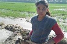 किसान की बेटी! आंदोलन में हक के लिए डटे पिता तो 11 साल की...