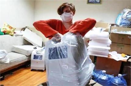 नेक काम: कोरोना मरीजों को नई जिंदगी दे रही लीसिया, उपलब्ध करवा रही...