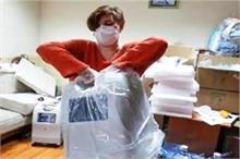नेक काम: कोरोना मरीजों को नई जिंदगी दे रही लीसिया, उपलब्ध...