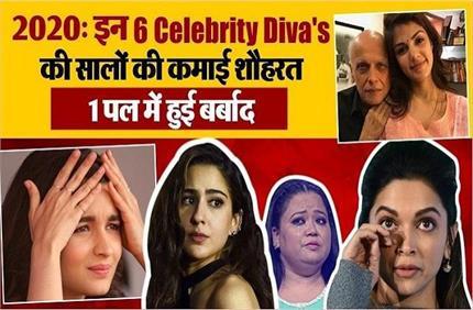 साल 2020 इन 6 Star Divas के लिए बना Bad Luck, कोई 'पापा' तो कोई अपने...