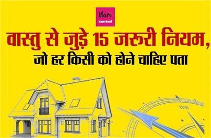 वास्तु से जुड़े 15 नियम में छिपी आपके घर की सुख-शांति, कंगाली भी होगी...