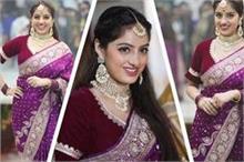 दीपिका सिंह ने भाई की शादी पर पहनी खूबसूरत साड़ी, आप भी ले...