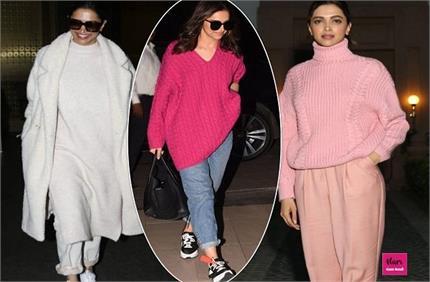 Winter Fashion: दीपिका के स्वेटर क्लेकशन से सर्दियों में भी दिखें...