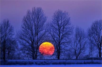 21 दिसंबर को साल का सबसे छोटा दिन, इसके बाद पड़ेगी कड़ाके की ठंड