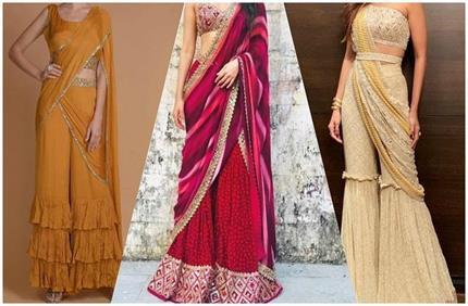 Fashion Trend: वेडिंग और फेस्टिव लुक के लिए इस बार ट्राई करें शरारा...
