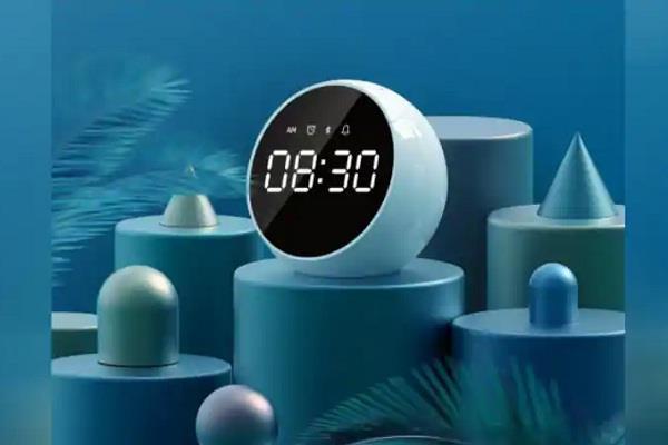 72 घंटे का बैटरी बैकअप देगा Xiaomi का नया अलार्म क्लॉक स्पीकर
