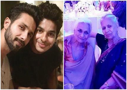 शाहिद कपूर की नानी का हुआ निधन, ईशान ने शेयर की पोस्ट