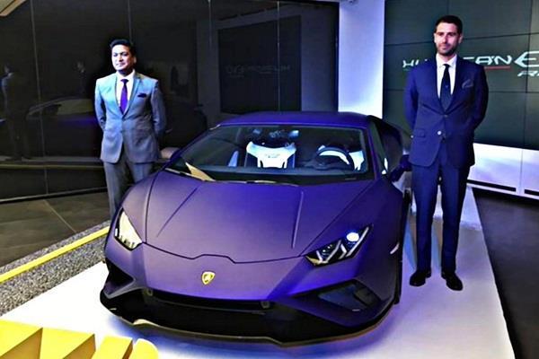 भारत में लॉन्च हुई Lamborghini Huracan Evo RWD, एक्स शोरूम कीमत 3.22 करोड़ रुपये