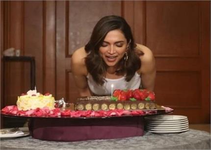 कभी फैंस तो कभी टीम के साथ दीपिका ने यूं काटा अपना केक, देखिए तस्वीरें