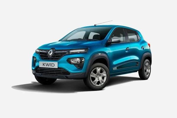 BS-6 इंजन के साथ भारत में लॉन्च हुई Renault kwid, कीमत 2.92 लाख रुपये से शुरू