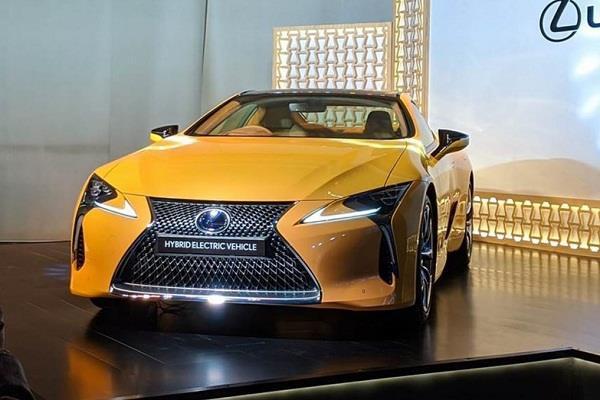 भारत में लॉन्च हुई Lexus LC500h, एक्स शोरूम कीमत 1.96 करोड़ रुपए