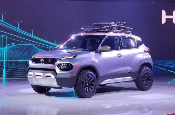 Auto Expo 2020: टाटा ने शोकेस की अपनी सबसे छोटी SUV कन्सैप्ट कार