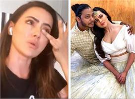 सना खान ने लगाए अपने ब्वॉयफ्रेंड पर आरोप, कहा - 'यह मेरे...