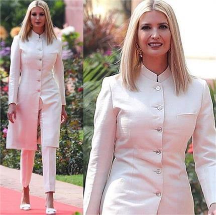 ट्रंप की बेटी ने पहनी देसी ड्रेस तो भारतीय डिजाइनर पर क्यों भड़के लोग?