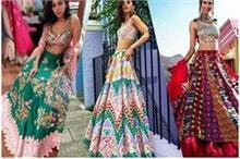 Multicoloured Lehenga में आपके लुक पर भी छाएगा नूर